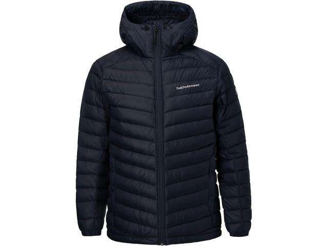 Peak Performance Frost Down Hooded Jacket Men salute blue